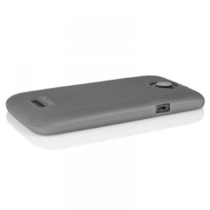 Incipio HT-268 NGP Case Cover für HTC One X - Translucent Mercury Grau