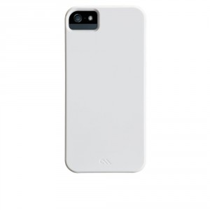 Case-mate Barely There Hülle/Cover/Case/Shell  iPhone 5/5S  glossy Weiss
