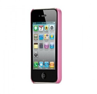 Skech  Slim  Ultra Thin Snap On Cover pink iPhone 4 / 4S