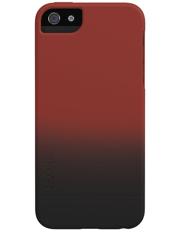 Skech Rise 2teilig Cover Hülle iPhone SE 5/5S rot