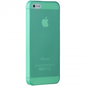 Ozaki OC533CY O!Coat Jelly slim 0,3 mm Cover Hülle iPhone 5/5S Cyan