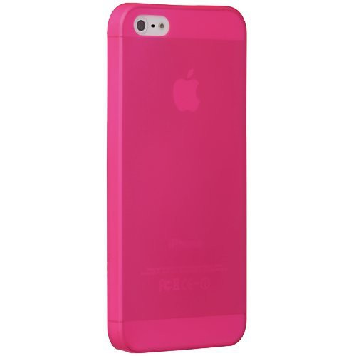 Ozaki OC533PK O!Coat Jelly slim 0,3 mm Cover Hülle iPhone SE 5/5S Pink