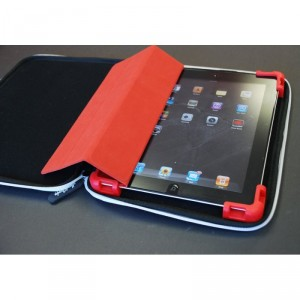 Hard Candy Cases Bubble Sleeve Schtuzhülle iPad/ Pad 2 / iPad 3 - weiss