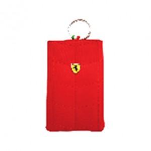Ferrari Handy Beuteltasche Universal 12,5 x 8 cm in rot