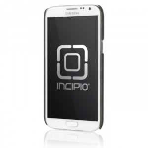 Incipio Feather Shine Cover Hülle Samsung Galaxy Note 2 in silber
