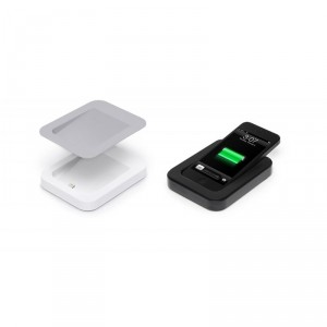 Bluelounge Saidoka Lightning Anti-Rutsch Ladestation iPhone 5/5S schwarz