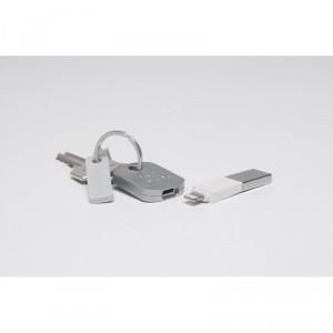 Bluelounge Kii Lightning Lade- und Synchronisationsstecker iPhone 5/5S in weiß