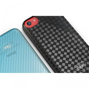 iSkin Flex Cover Hülle iPhone 5C Carbon schwarz