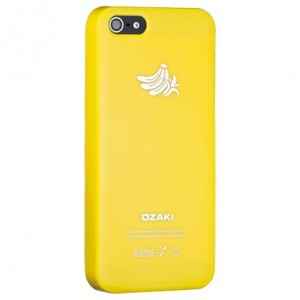Ozaki OC537BA O!Coat Fruit Banana Cover Hülle iPhone 5/5S - Gelb