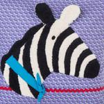 Jobolino Appliset Pundi, das Zebra 001