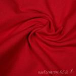 Bündchen rot - 70 cm