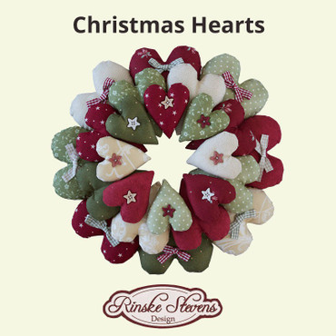 Christmas Hearts by Rinske Stevens