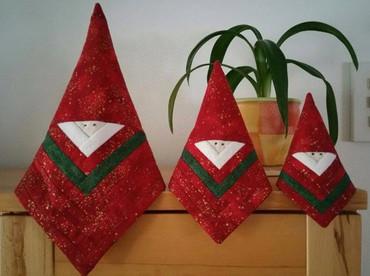 3 Weihnachtsmänner - Kantenhocker