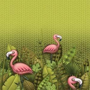 Finch Fabrics Flamingo Party