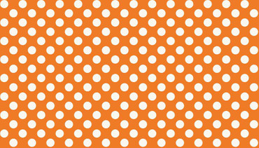Makower Basic Spots orange