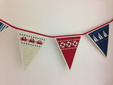 Makower Sea View Bunting Wimpelkette Panel – Bild 2