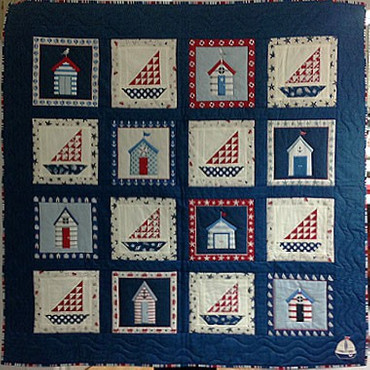 Sea View Quilt – Bild 1