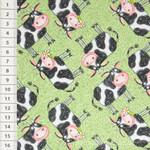 Barnyard Boogie Kühe grün 001