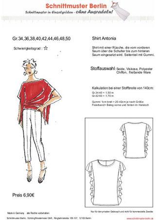 Shirt ANTONIA (Gr. 34-50)