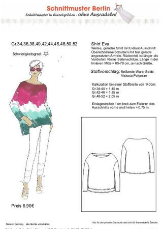 Oversize-Shirt EVA (Gr. 34-50) – Bild 1