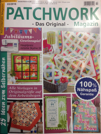 Patchwork Magazin 03/2016