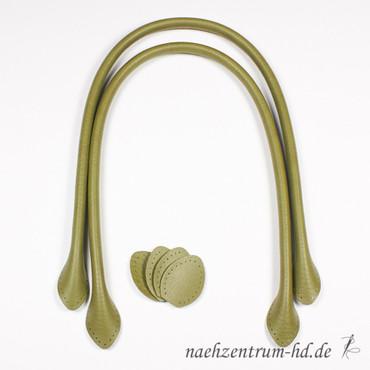 2 Taschengriffe 70cm olivgrün – Bild 1