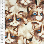 Timeless Treasures Grumpy Cat