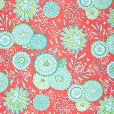 Moda Coral Queen Meeresblumen grünblau – Bild 2