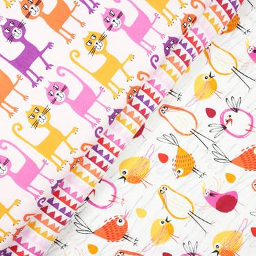 Pets A Plenty Dancing Cats Katzen orange lila – Bild 5