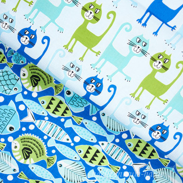 Pets A Plenty School's out Fische blau grün – Bild 3