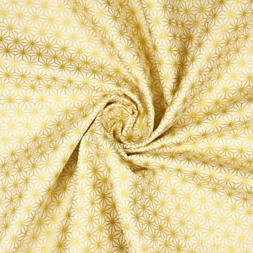 Glimmering Geometric Stars creme gold – Bild 2