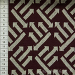 3D Bio Jacquard Right Direction, bordeaux 001