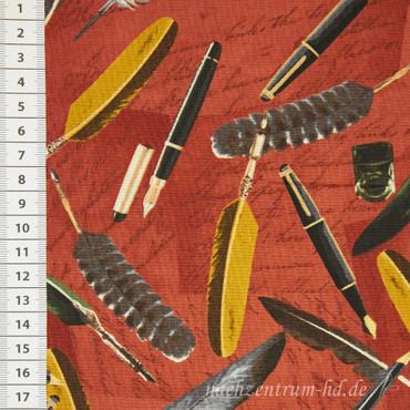 Longfellow Vintage Federn Füller terra