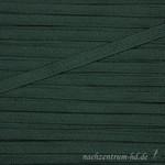 Flache Kordel mit Glanz, 8mm, dunkelgrün 001