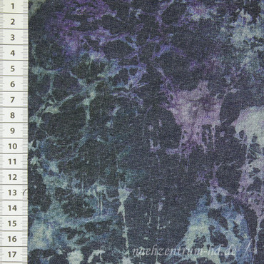 Hilco Oltrona French Terry blau – Bild 2
