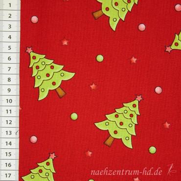 Purely Christmas Tannenbäume rot