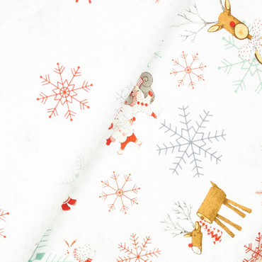 Joy Love Peace Schneeflocken – Bild 3