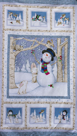 Snow Babies Panel Flanell by Beth Logan  – Bild 1