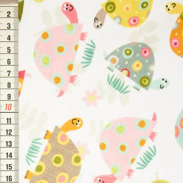 Minky Prints Happy Turtle **original aus den USA** – Bild 1