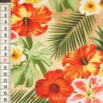 Rainforest Hibiskusblüten braun 001