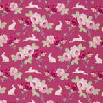 Tilda Rabbit & Roses pink 001
