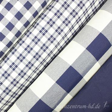 Dekostoff Uni marineblau - Überbreite - – Bild 2