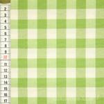 Dekostoff Vichy Karo 1,5cm apfelgrün - Überbreite - 001
