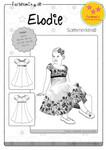 Elodie – Sommerkleid (Gr. 86 -152) 001
