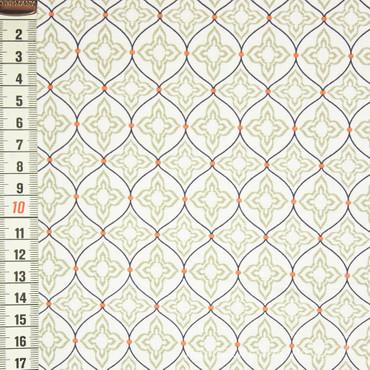 Marrakesch Muster 568 weiß
