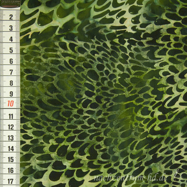 Batik Bushes grün