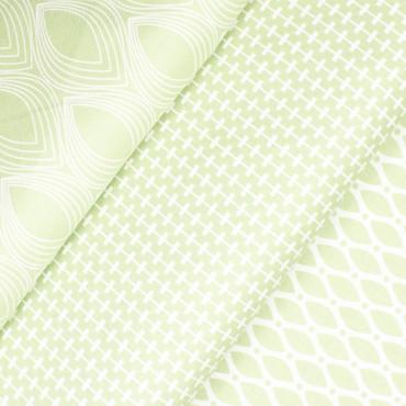 STOF Duo Geometric Leaves grün – Bild 4