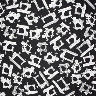 Sew It Fabulous Loralie Nähmaschine schwarz weiß – Bild 2