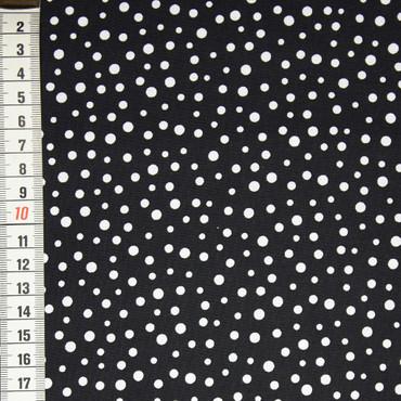 Susybee Irregular Dot weiß auf schwarz – Bild 1