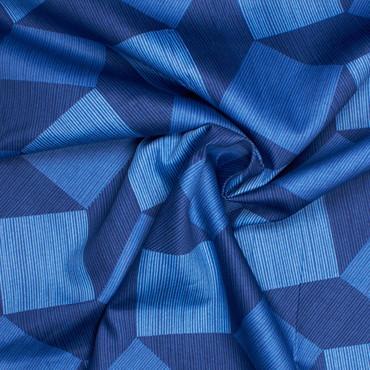 Michael Miller Luxe Tumble Blocks blau -Überbreite- – Bild 2